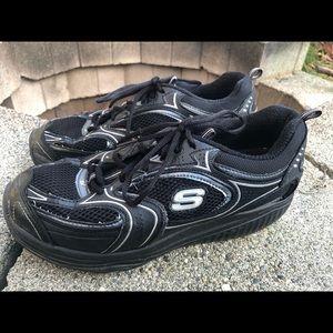 Skechers Shape Ups Toning Fitness Sneakers Size 10